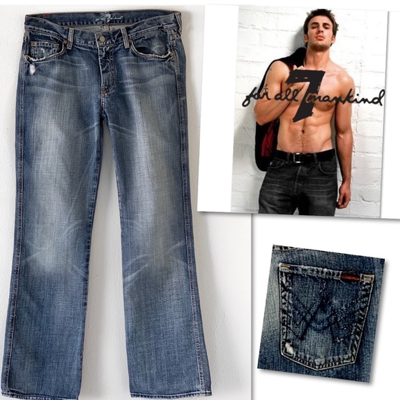 7 For All Mankind Other - 7 For All Mankind MEN'S A Pocket Jeans 34 X 34.